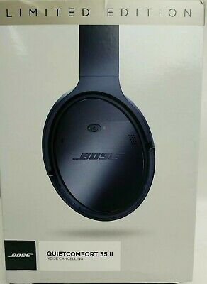 Bose QuietComfort 35 (Series II) Wireless Headphones Triple Midnight Limited