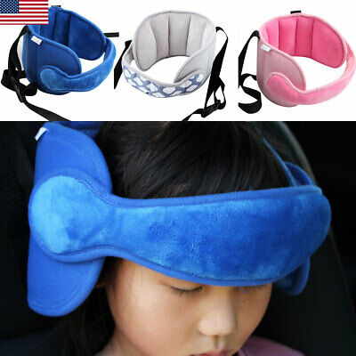 Kid Head Support Baby Safety Car Seat Sleep Nap Aid Child Holder Protector Belt