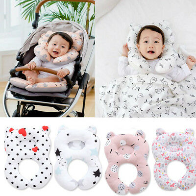 US Toddler Baby Sleep Pillow Car Seat Pillow Travel Soft Breathable Head Support