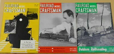 Railroad Model Craftsman Magazine complete year 1950  12 issues