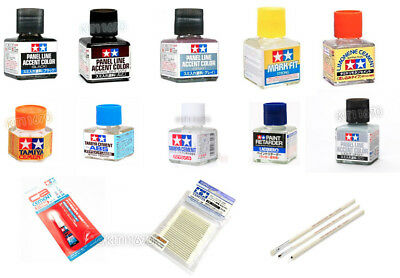 TAMIYA Panel Line Cement Glue Paint Tool for Plastic Model Made in Japan 100%
