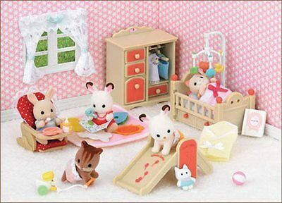Sylvanian Families Jp Calico Critters Se-153 Baby's Room Set