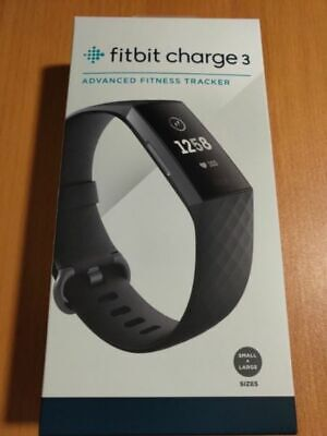 Fitbit Charge 3 Heart Rate Fitness Band Activity Tracker - Graphite/Black