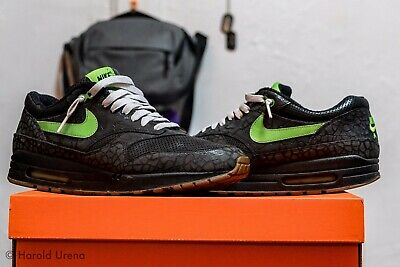 free shipping 31b50 1072a Nike Air Max 1 Hufquake Size 9 Mens Excellent Condition Original All 2007