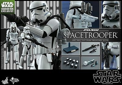 Hot Toys MMS291 Star Wars Episode IV A New Hope Spacetrooper 1/6 Figure New Fast