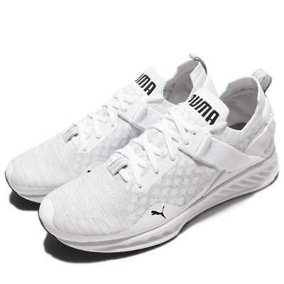 Puma Ignite Evoknit Men s Running Shoes Size 12   189904 02 Wht  Vaporous  Grey 0f825c916