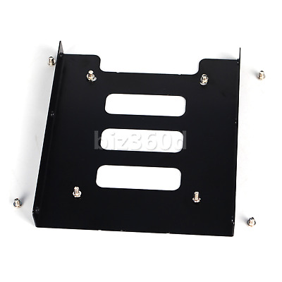 """2.5"""" to 3.5"""" inch Adapter Bracket SSD HDD Hard Drive Mounting Tray Caddy Bay"""