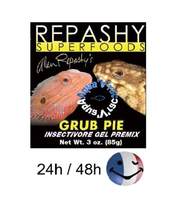 Repashy Superfoods Grub Pie pour reptiles et amphibiens Insectivore Gel insectes
