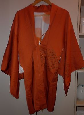 Vintage Japanese  Kimono Jacket Size Small Excellent  Condition
