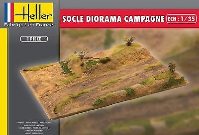 Heller 1/35 Socle Diorama Campagne Base # 81254