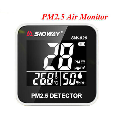 High Accuracy Air Quality Monitor Laser PM2.5 Tester Temperature Humidity Tool
