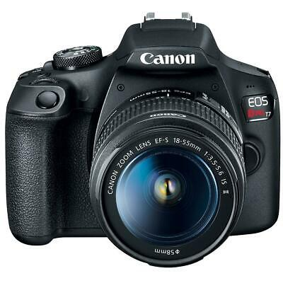 Canon EOS Rebel T7 24.1MP DSLR Camera with EF-S 18-55mm f/3.5-5.6 IS II Lens