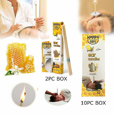 5 pairs   HAPPY ears Ear candles Straight  Best quality and Cheapest