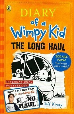 The Long Haul By Jeff Kinney Diary of a Wimpy Kid book and Children's book