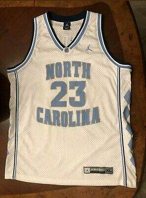 1ef445e9222a59 MICHAEL JORDAN NORTH CAROLINA TAR HEELS Nike BASKETBALL JERSEY XL UNC