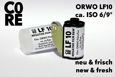 ORWO LF10 Film • ISO 6/9° • 35mm NEW & FRESH FILM b/w Black & White Negativ 135