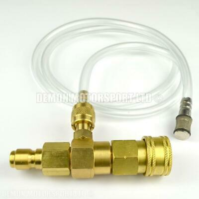 Pressure Washer Chemical, Soap Venturi Injector Brass (Adjustable) Quick Release