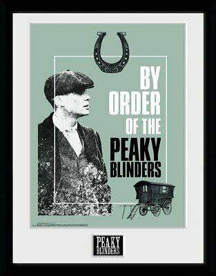 Peaky Blinders By Order Of The Peaky Blinders Framed Official Print New