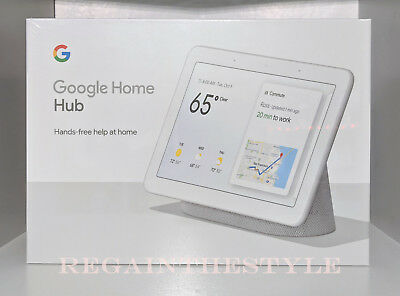 "Google Home Hub mit Google Assistent Smart 7 "" Display - Kalk Grau"