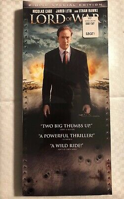 Lord of War (DVD, 2006, 2-Disc Set Special Edition) Long Box Packaging Cage Leto