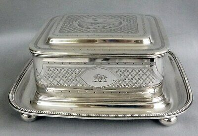 Super piece of early Elkington silver plate . Exc Condition.  1842 - 1864