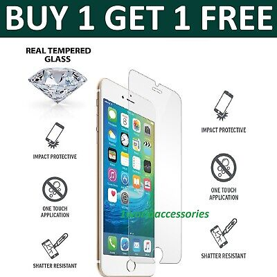 For Apple IPhone 7 - 100% Genuine Tempered Glass Film Screen Protector New