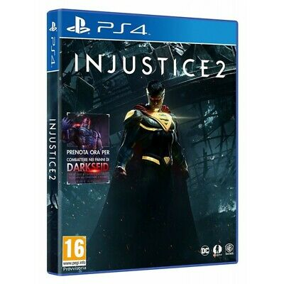 Warner Bros Injustice 2, PS4 videogioco Basic PlayStation 4 Inglese, ITA