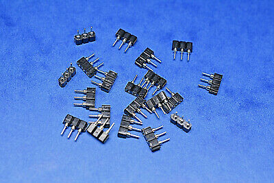 20x SIL Socket Strip 3 Way Turn Pin Gold Plated SBU03OZ