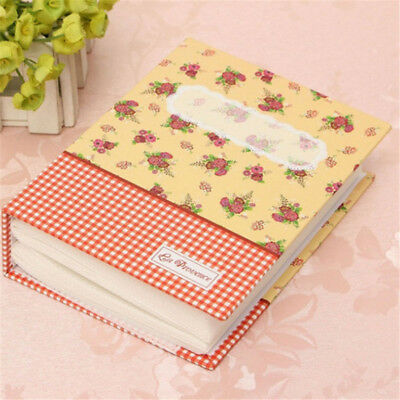 "4x6"" Cute Photo Album 100 Photos Storage Case Family Wedding Picture Book Red PS"