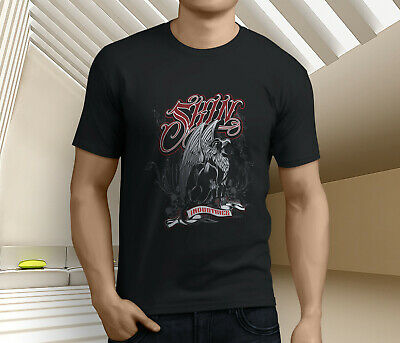 New Popular Skin Industries Men's Black T-Shirt Size S-3XL