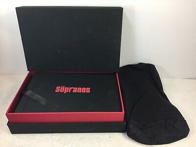 The Sopranos The Complete Series DVD  Collectors Box 2007 Cloth Bag HBO