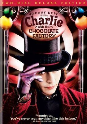 Charlie And The Chocolate Factory (DVD 2-Disc Set) [Deluxe Edition]