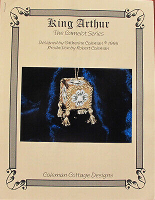 Catherine Coleman King Arthur Ornament Counted Needlepoint Chart/Pattern