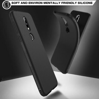 For Nokia 7.1 Matte Slim Anti Skid Shockproof Soft TPU Silicone Cover Case