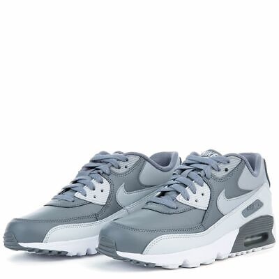 new concept df71c 94665 Kids Nike Air Max 90 Ltr (Gs) 833412-013 Cool Grey wolf