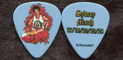 BRUNO MARS 2018 24K Magic World Tour Guitar Pick!!! custom concert stage Pick #3