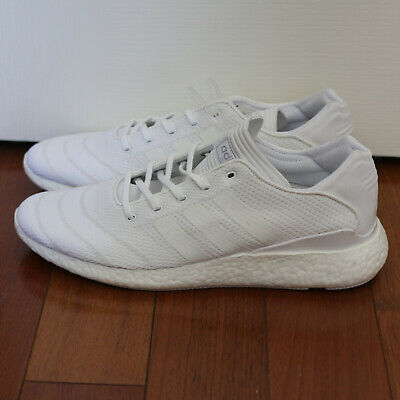free shipping 157fc ac621 Adidas BB8376 Busenitz Pure Boost (12.0 D(M) US Mens White Shoes Ultra