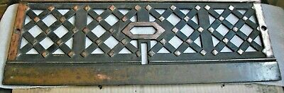 Hidden Copper++ Cast/Bronze/Brass Fireplace Architectural Salvage 8 x 20++ apprx
