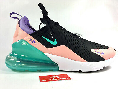 brand new 42e01 aa9d6 New AIR MAX 270 Have a Nike Day CI2309-001 Black Hyper Jade Bleached