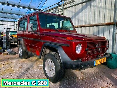 Mercedes G 280 1984, Leather, Alu Rims, Good tires, Sunroof