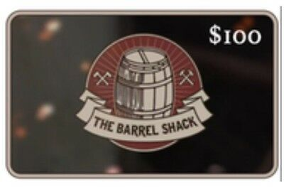 The Barrel shack Gift Card $100 get it in minutes shop away