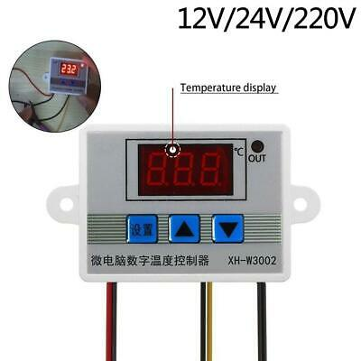 220V 10A Digital LED Temperature Controller Thermostat Control Switch Probe BE