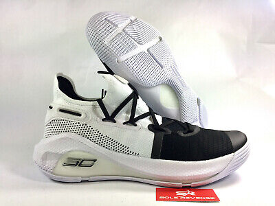 super popular 8ccd6 ea293 NEW UNDER ARMOUR Curry 6 Stephen 20612101 White/Black Basketball Shoes c1