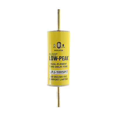 Cooper Bussmann Lpj-100Spi Low-Peak Dual-Element Class J Fuse, 600V, 100A