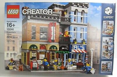 Sealed Lego Creator Box Set 10246 Detectives Office Expert Level