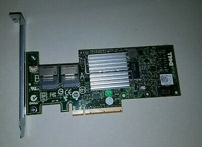 Dell 47MCV PERC H200 6Gbps PCI-E Raid Controller Flashed IT Mode with cable