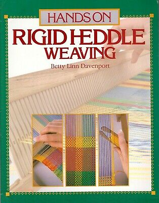 HANDS ON RIGID HEDDLE WEAVING by Betty Linn Davenport **NEW** 1987 Vintage Book
