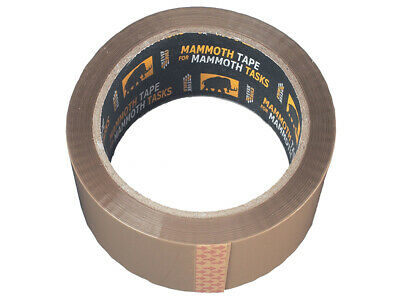 Everbuild Retail/Labelled Packaging Tape Brown 48mm x 50m EVB2PTBN48