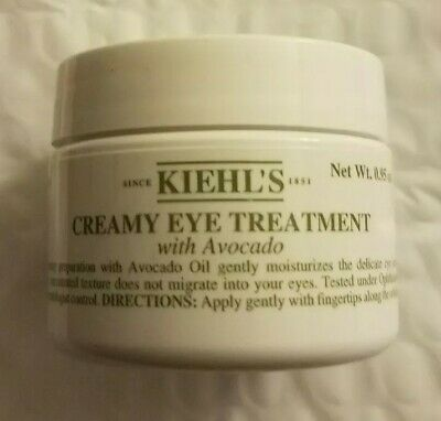 Kiehl's Creamy Eye Treatment w/Avocado 0.95 Oz New Sealed Mint Fresh Batch 18R8