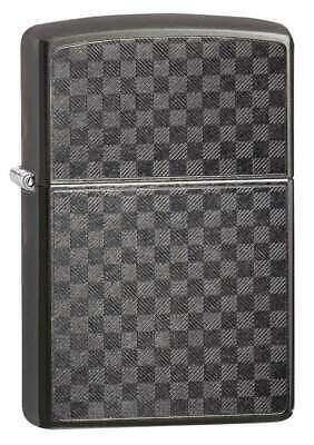 Zippo Windproof Grey Iced Carbon Fiber Lighter, 29823, New In Box